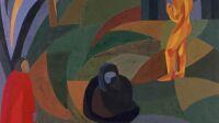 Otto Freundlich Composition avec trois figures, 1911-1941 Musée de Montmartre