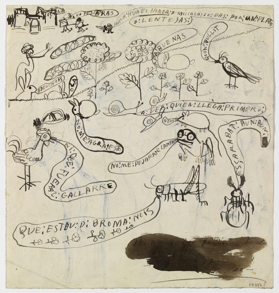 Pablo Picasso La Xerrameca (1899-1900)