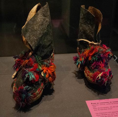 Paire de chaussons de Chaman