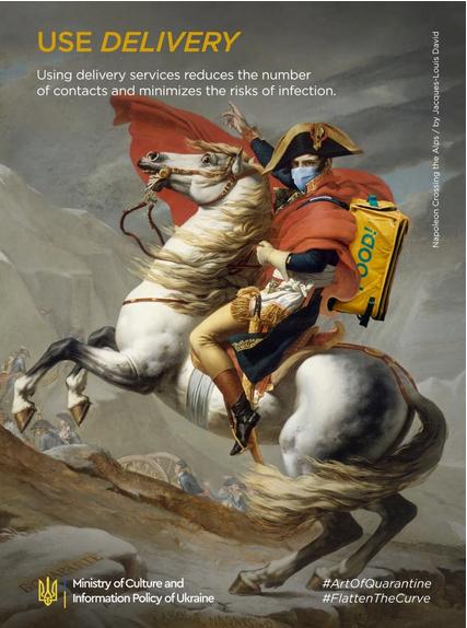 """""""Bonaparte franchissant le Grand-Saint-Bernard"""", Jacques-Louis David"""