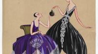 Porrachia Me Simone habilée par Jeanne Lanvin - MAD Dessin sans réserve
