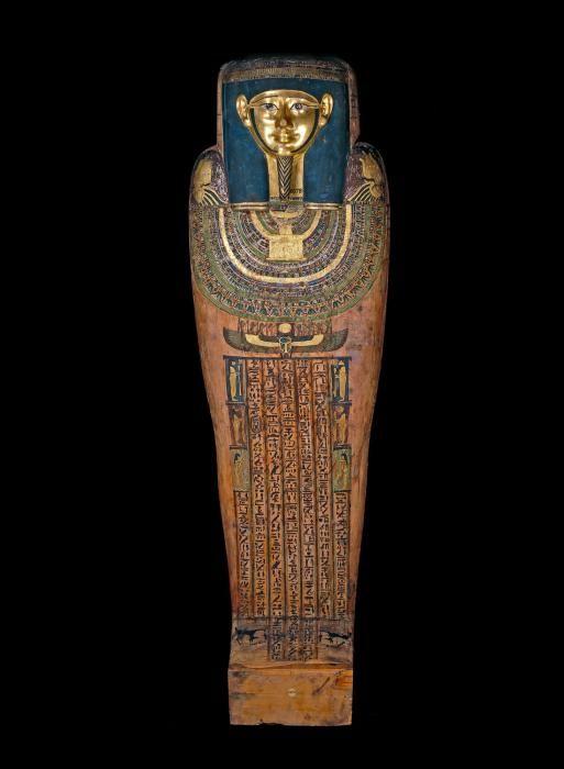 Sarcophage égyptien de Hornedjitef de British Museum