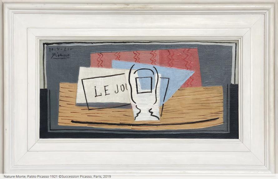 Loterie caritative un Picasso pour 100 euros Association CARE France - Nature Morte, Pablo Picasso 1921