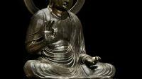 Statue Buddha Amida Musee Cernuschi © Stéphane Piera - Musée Cernuschi - Roger-Viollet