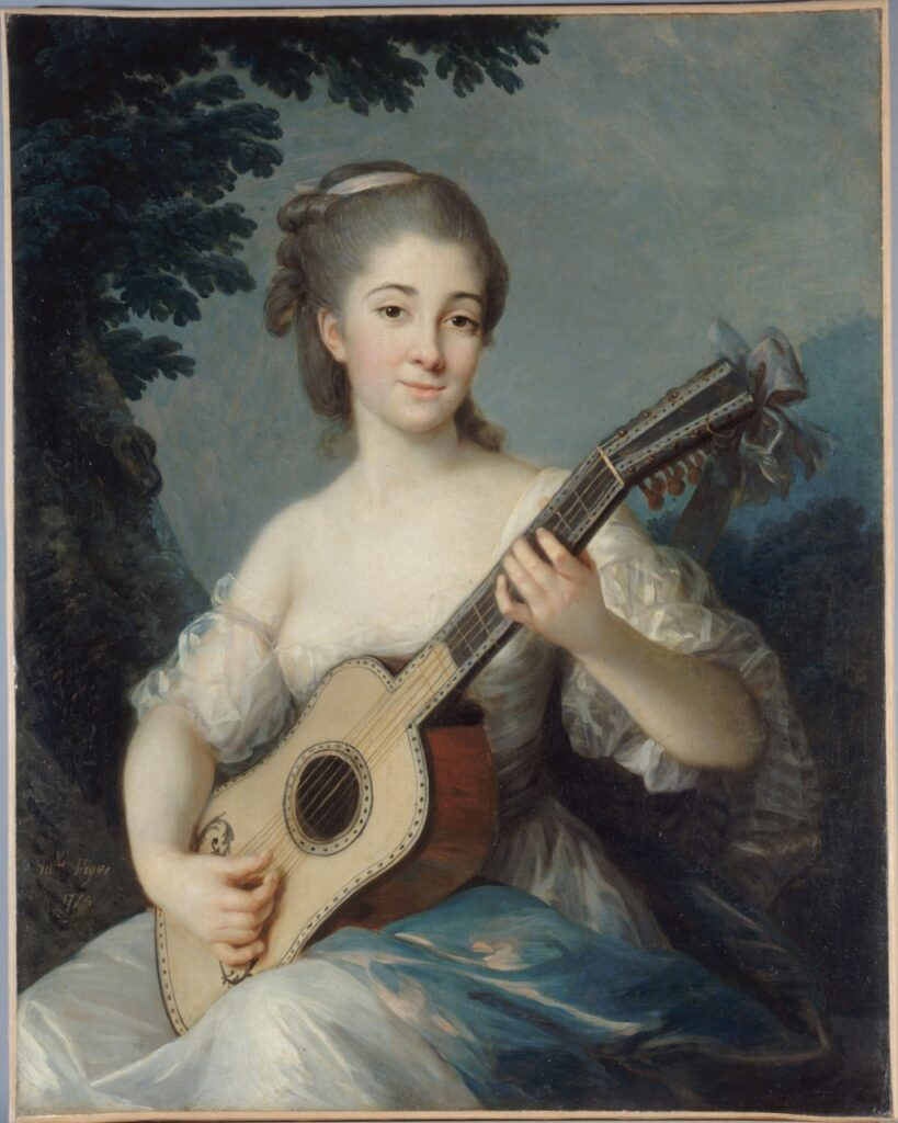 Vigée-Lebrun, Portrait de Marie-Louise de Robien