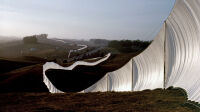 Christo Jeanne-Claude Running Fence (2)