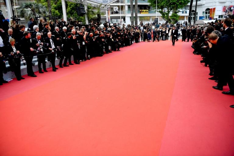 Le tapis rouge à Cannes, le 24 mai 2019