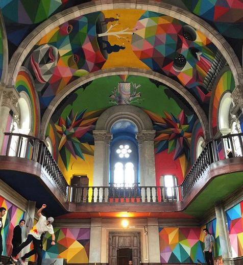 La Iglesia Skate en Espagne