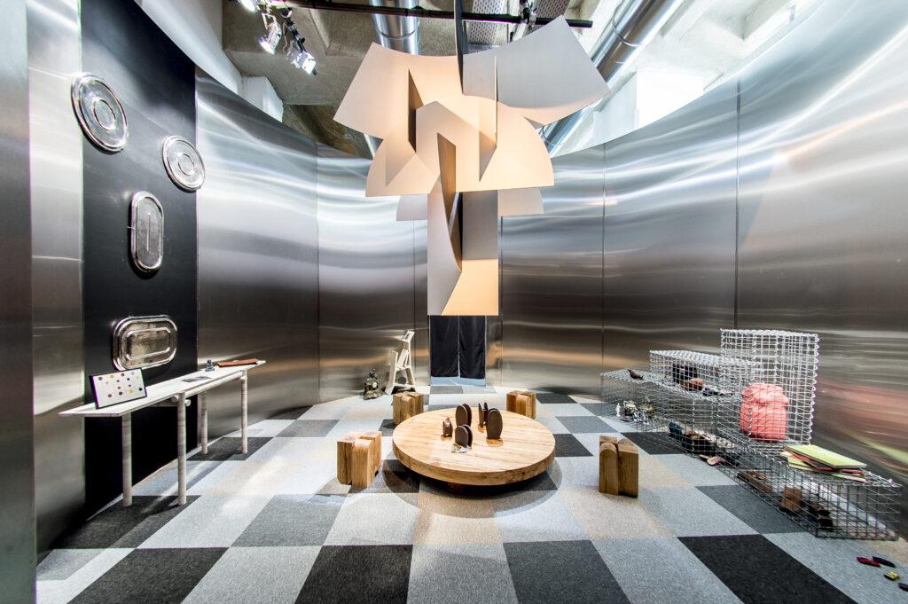Entrée par Clément Brazille pour l'exposition Places to be