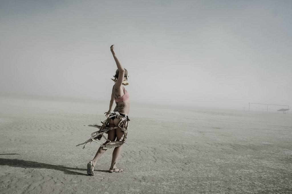 Eric Bouvet, Bunring Man, 2012