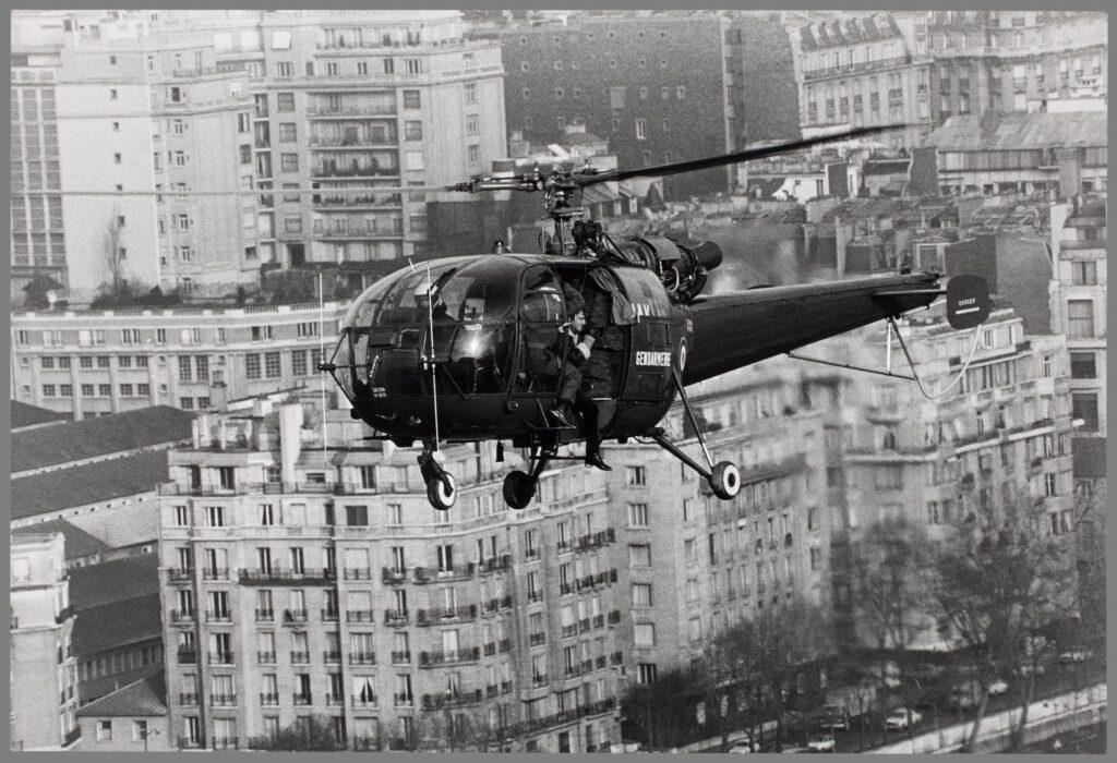 Photo de tournage du film Peur sur la ville, 1975