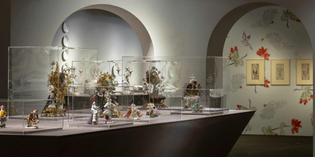 © Exposition Meissen Folies de porcelaine au musée Ariana- Vue de l'exposition