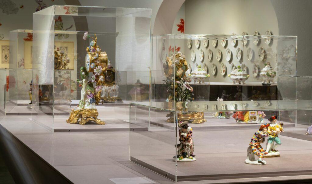 Exposition Meissen Folies de porcelaine- Vue de l'exposition