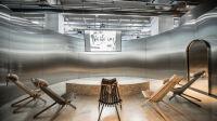 Exposition Places to be à la Fondation d'entreprise Martell - Salle de projection © C.K. Mariot