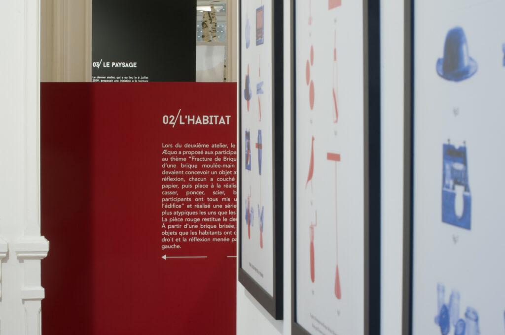 Exposition Quand le design rend visite au patrimoine, Æquo