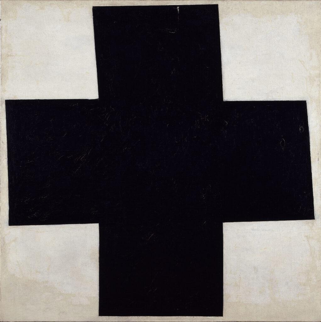 Croix [noire], Malévitch Kasimir (1878-1935). Paris, Centre Pompidou - Musée national d'art moderne