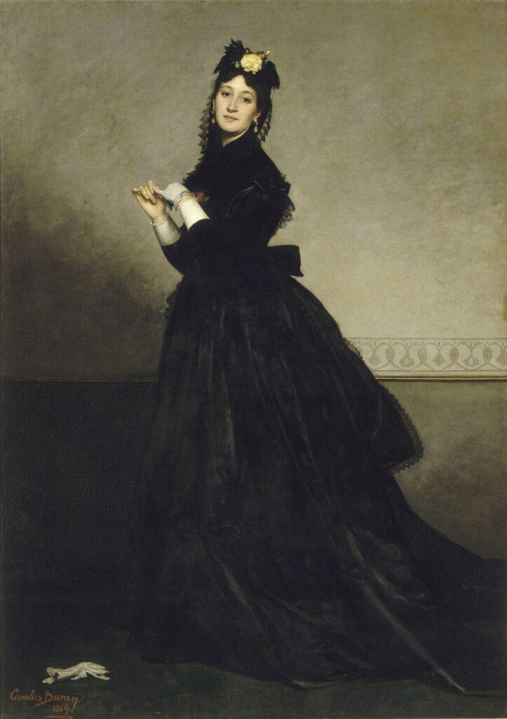 Exposition Soleils Noirs - La dame au gant - Carolus-Duran - 1869