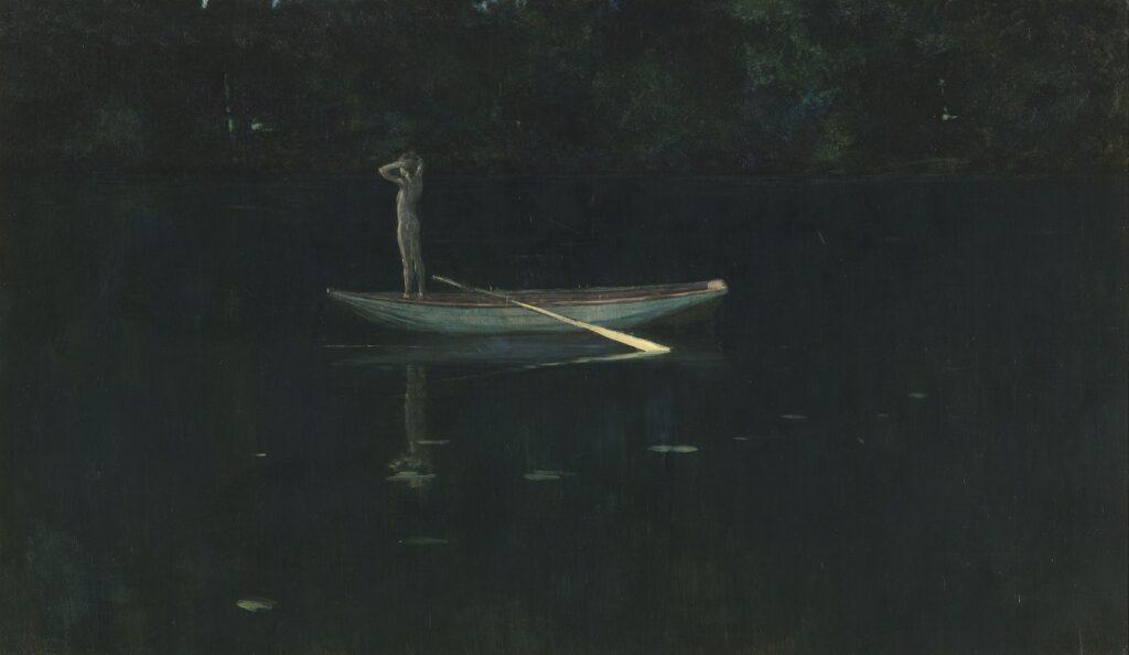 Exposition Soleils Noirs - La solitude - HARRISON Alexander - 1893