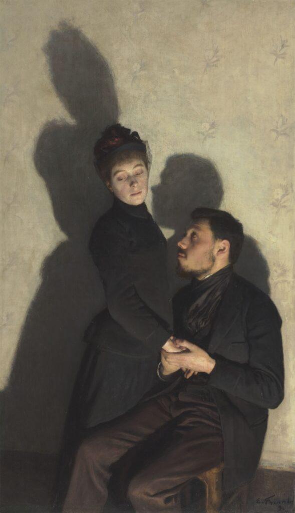 Exposition Soleils Noirs - Ombres portées - FRIANT Emile - 1891