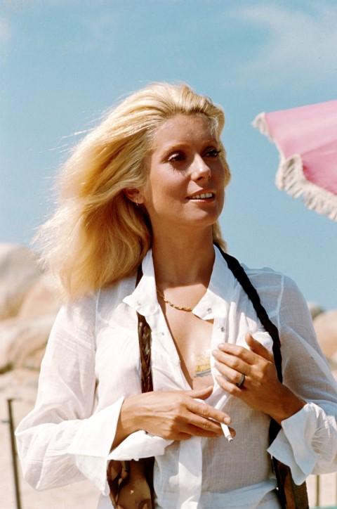 Jean-Claude Deutsch, Catherine Deneuve à l'Ile de Cavallo (Corse), 1971