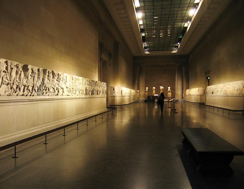 La frise du Parthénon, au British Museum