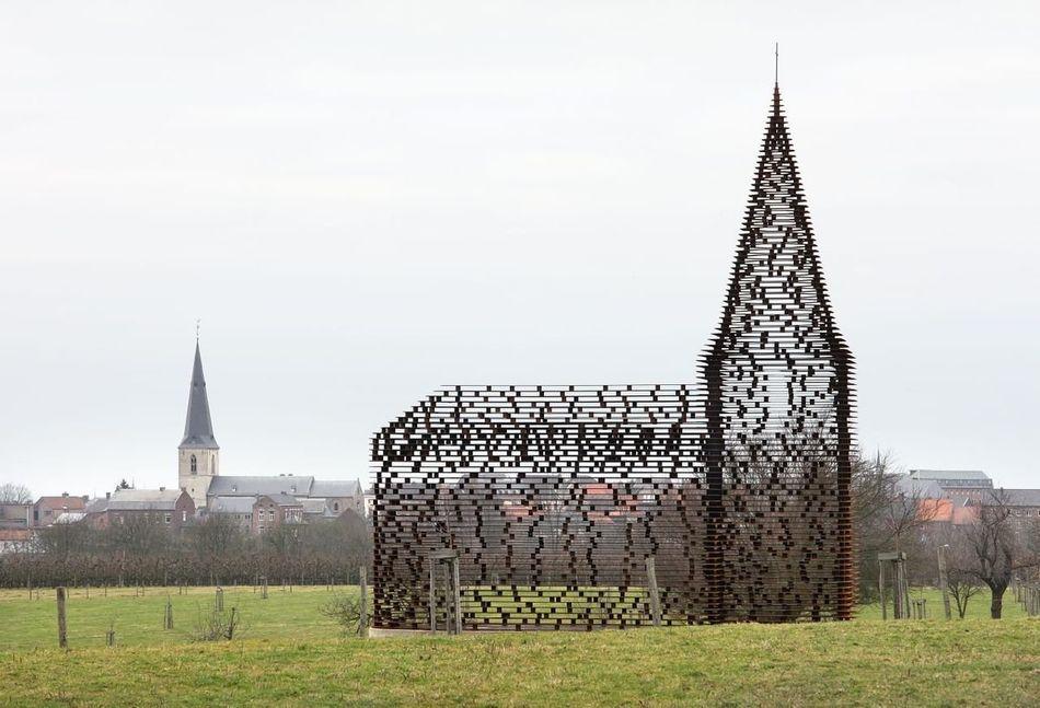 Eglise de Looz, vue extérieure