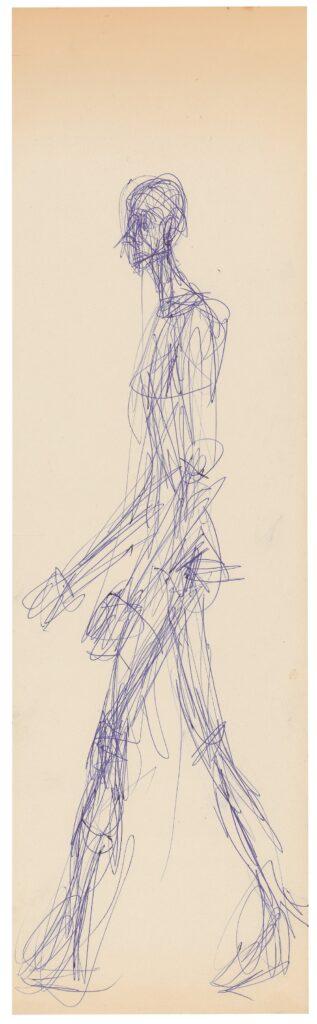 Alberto Giacometti, Homme qui marche, 1959