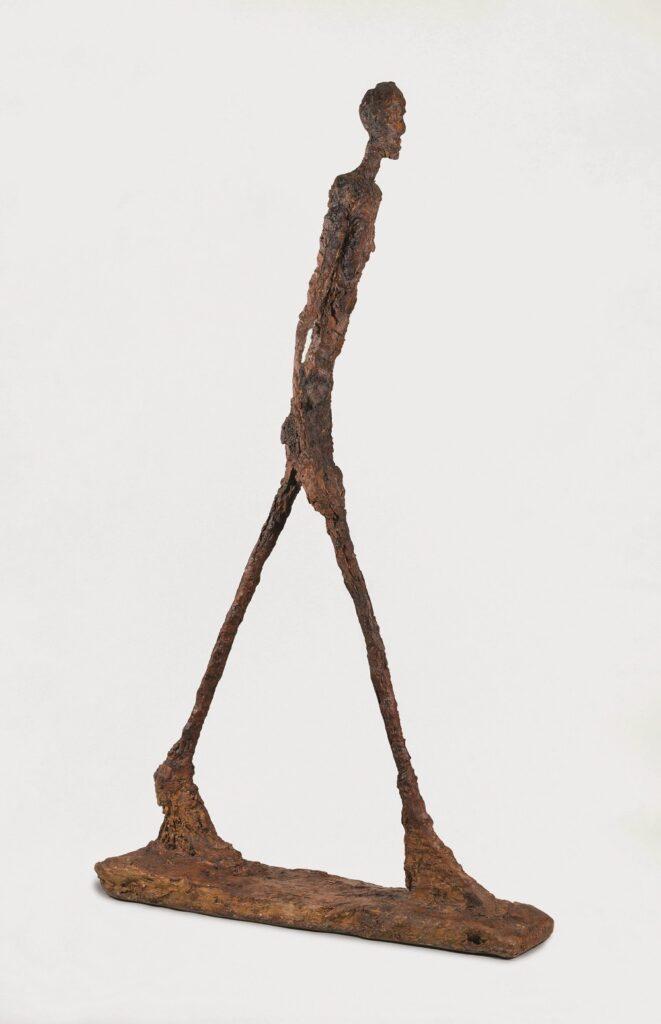 Alberto Giacometti, Homme qui marche II, 1960