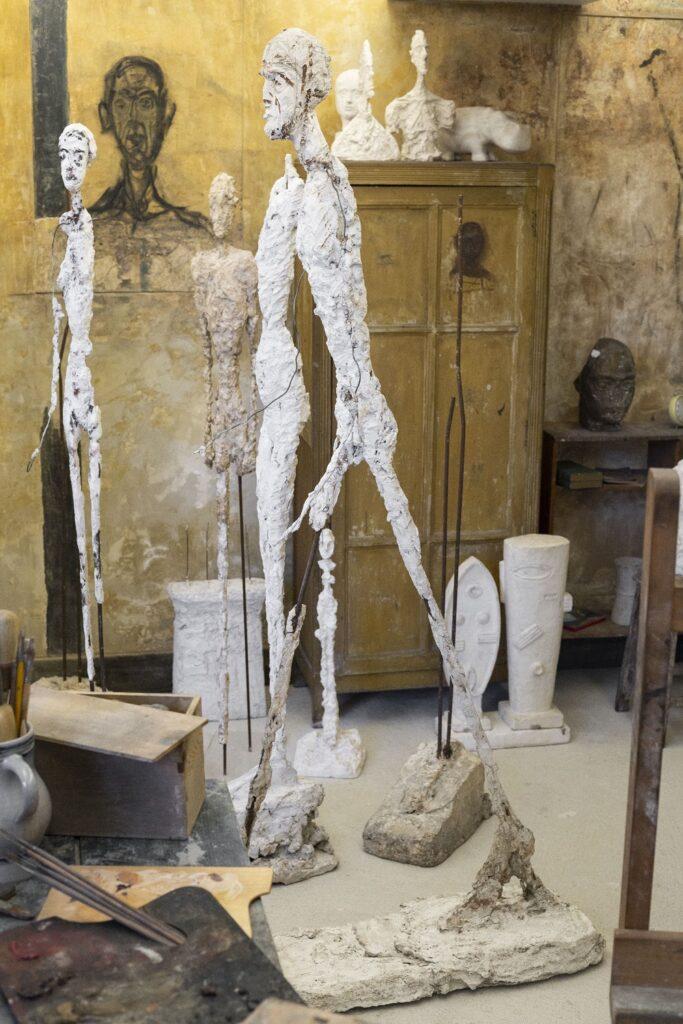 Alberto Giacometti, Homme qui marche III, plâtre