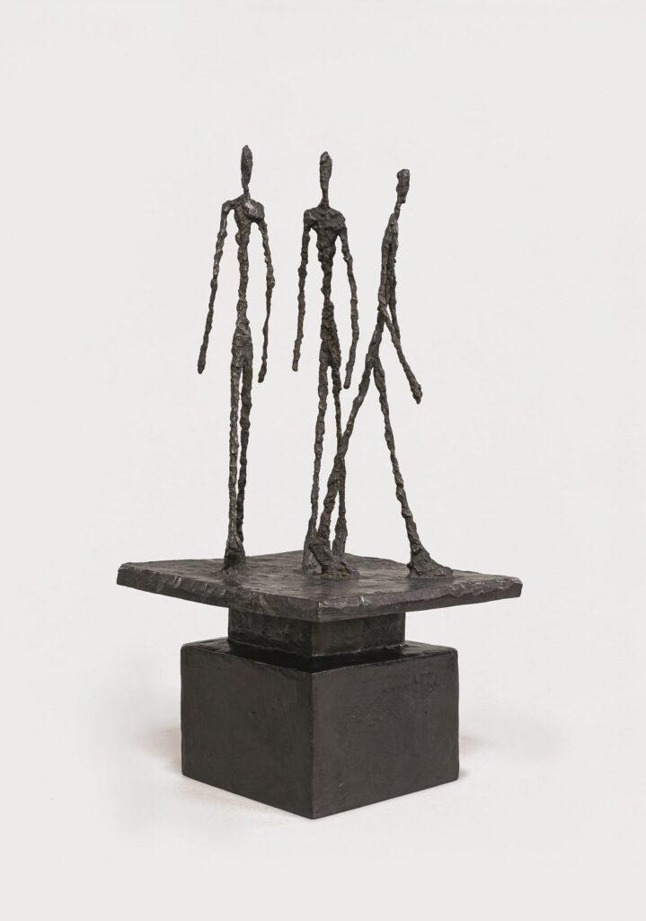 Alberto Giacometti, Trois hommes qui marchent, 1948