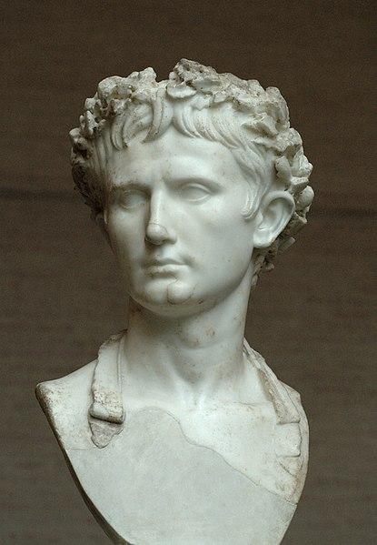 Buste de l'empereur Auguste, Glyptothèque de Munich