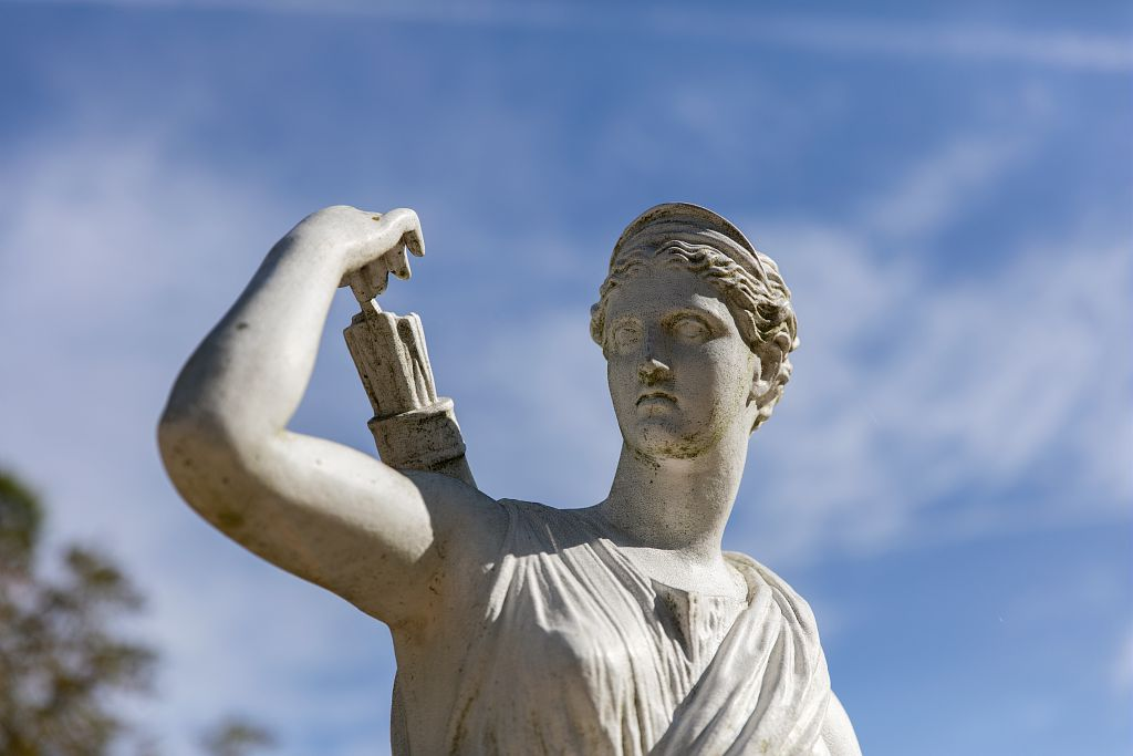 Statue du domaine de la Garenne Lemot
