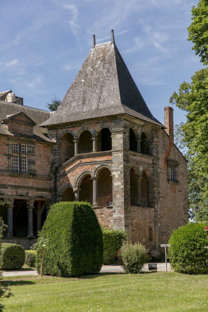 Vue du Château de Châteaubriant