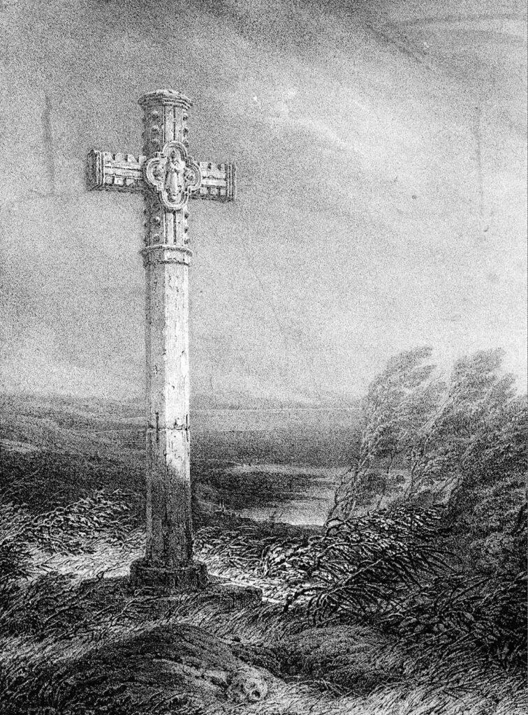 Louis Atthalin, Croix du cimetière de Graville, 1821