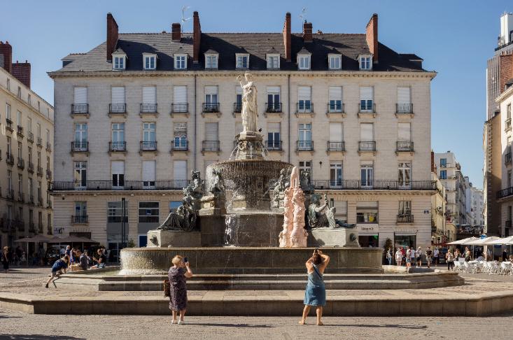 Elsa Sahal - Fontaine - Voyage à Nantes 2020