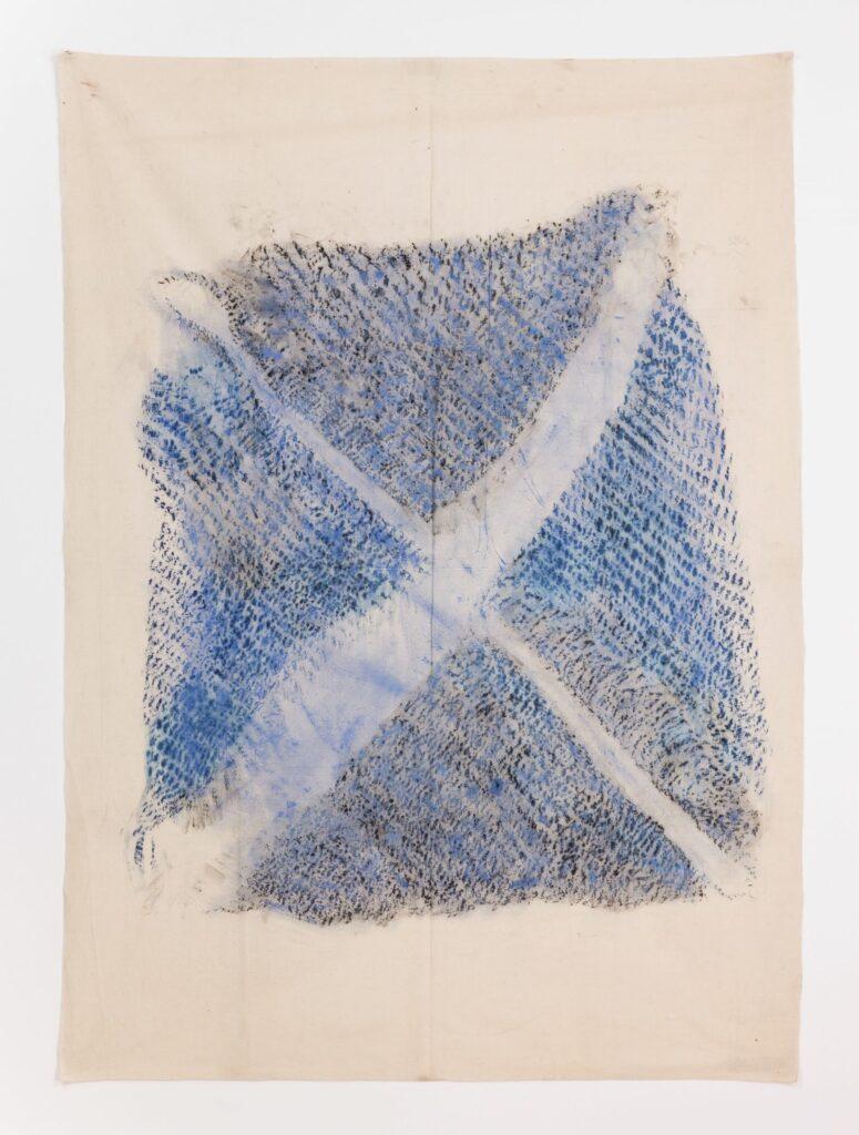 Exposition Francis Wilson au musée Jean Lurçat- Empreinte sur Mutta I