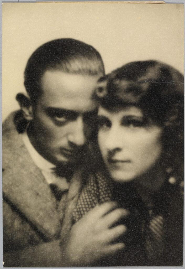 Photomaton archives Fundació Gala-Salvador Dalí, Gala et Dalí, vers 1930