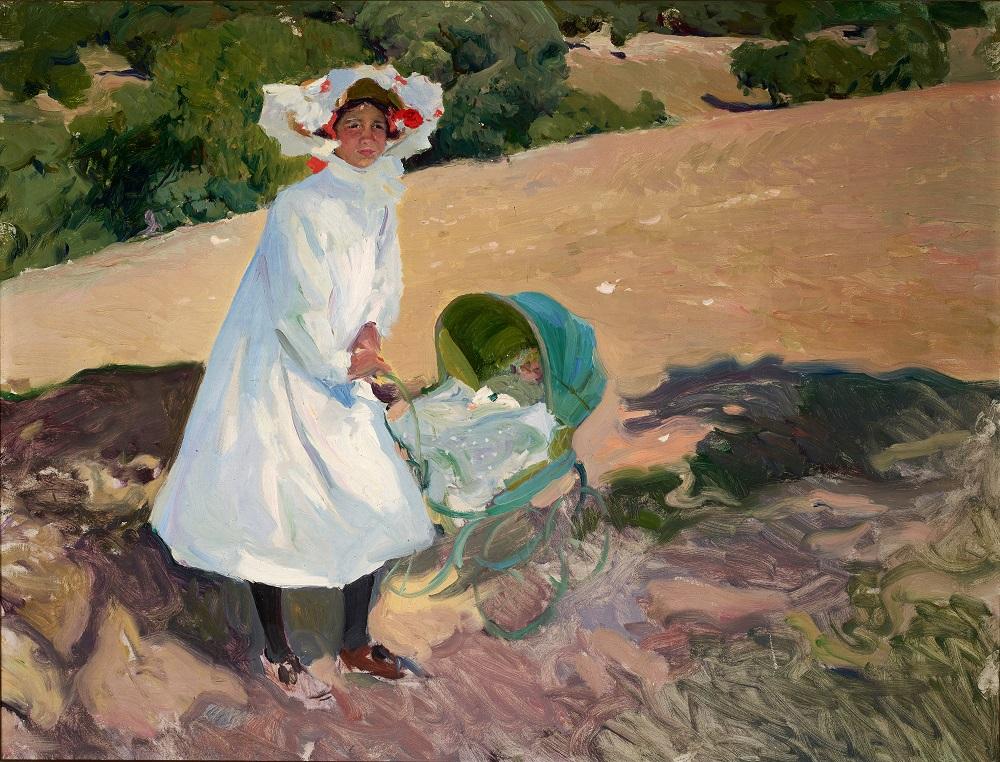 Joaquin Sorolla, Elenita au Pardo, 1907
