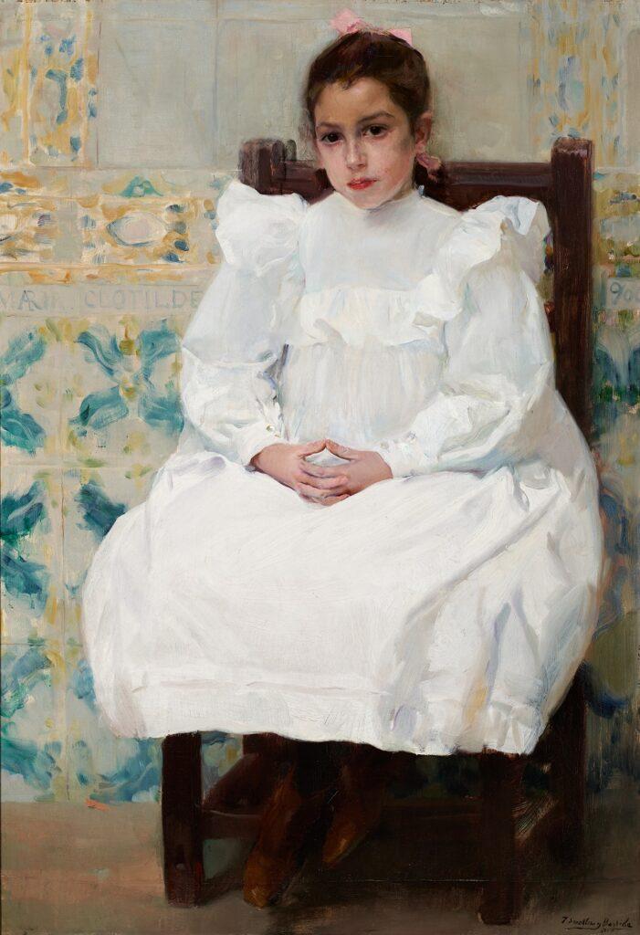 Joaquin Sorolla, María clotilde, 1900