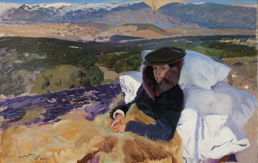 Joaquin Sorolla, María convalescente au Pardo, 1906