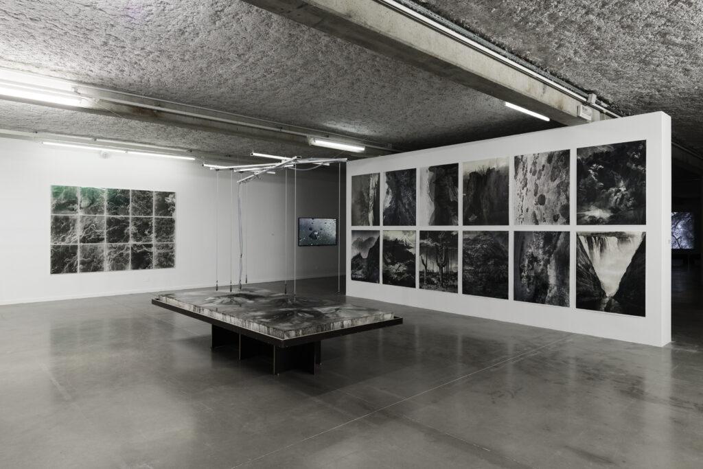 Exposition La mesure du monde au MRAC, vue de l'exposition au Mrac, Sérignan, 2019.