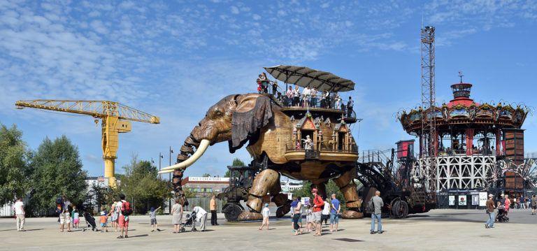L'éléphant de l'Île aux machines