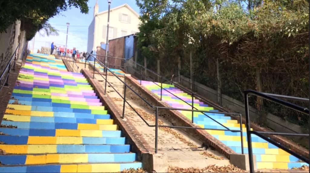 L'escalier de Montmorency