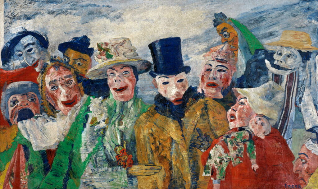 James Ensor, L'intrigue,1890
