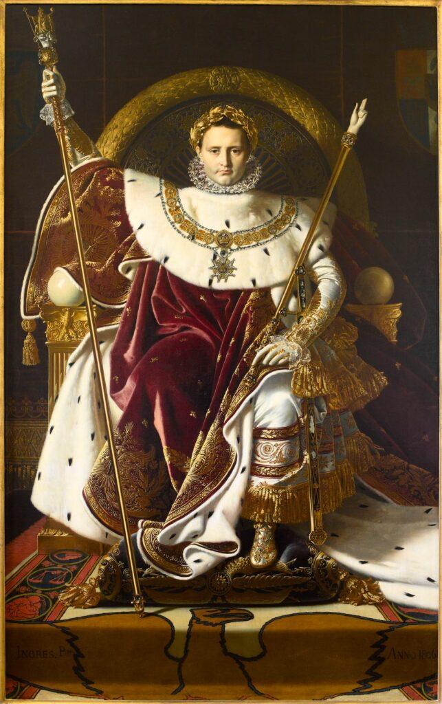 Ingres, Napoléon Ier sur le trône impérial, 1806