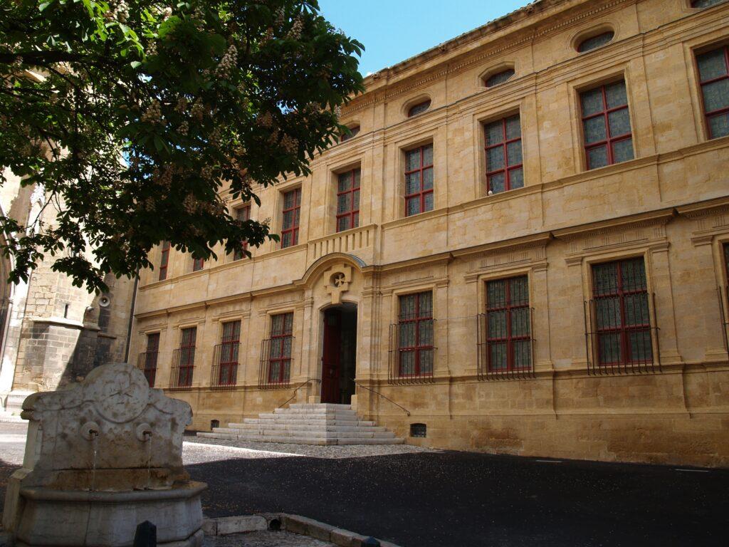 Extérieur du musée Granet