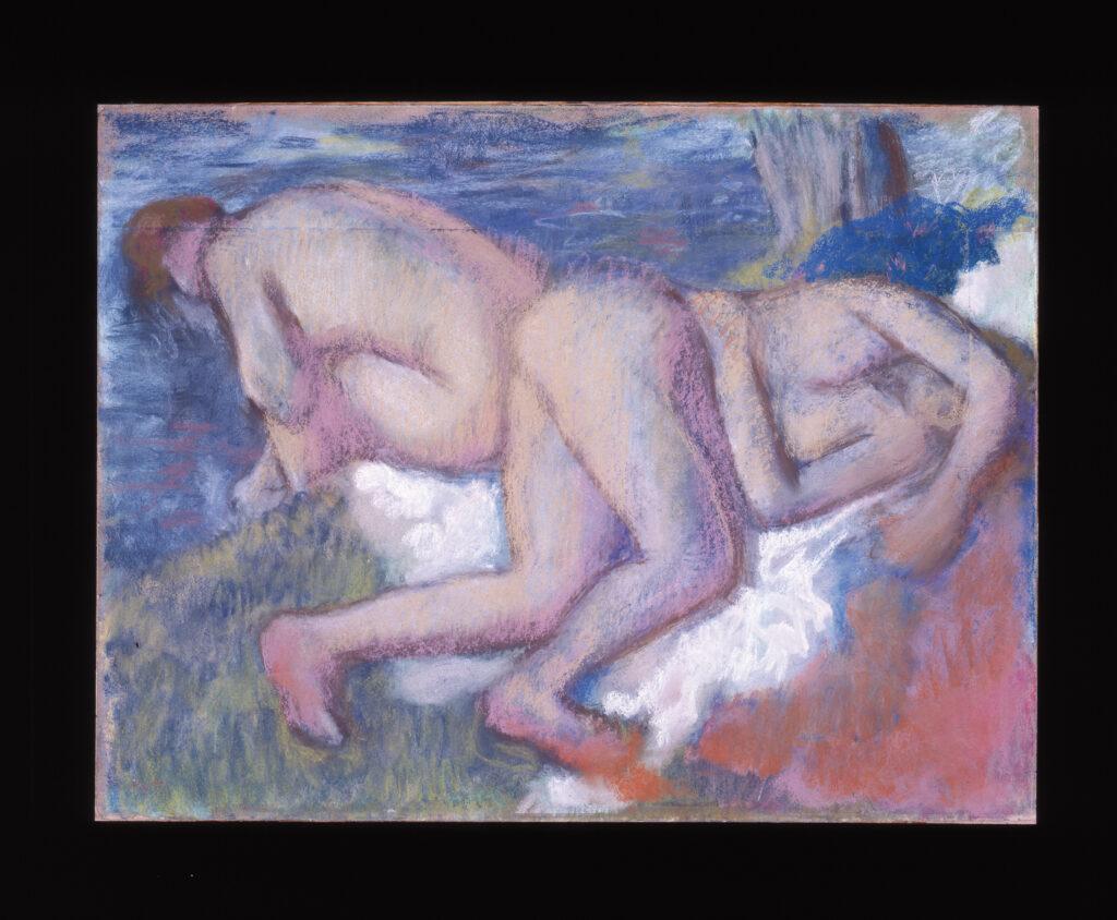 Musée Granet-Edgar Degas (1834-1917), Deux Femmes au bain, vers 1895
