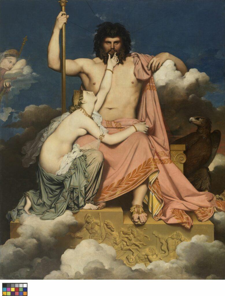 Musée Granet- Jean Auguste Dominique Ingres (1780 - 1867), Jupiter et Thétis, 1811
