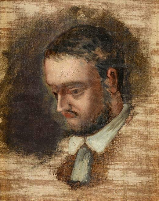 Musée Granet-Le portrait de Zola, Cézanne