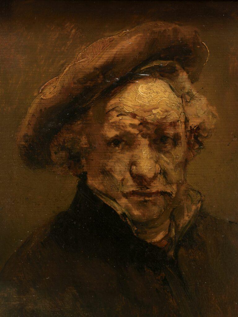 Musée Granet-Rembrandt (1606-1669), Autoportrait
